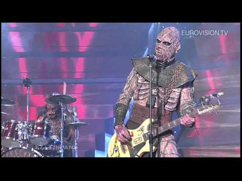 Lordi - Hard Rock Hallelujah (Finland) 2006 Eurovision Song Contest Winner (видео)