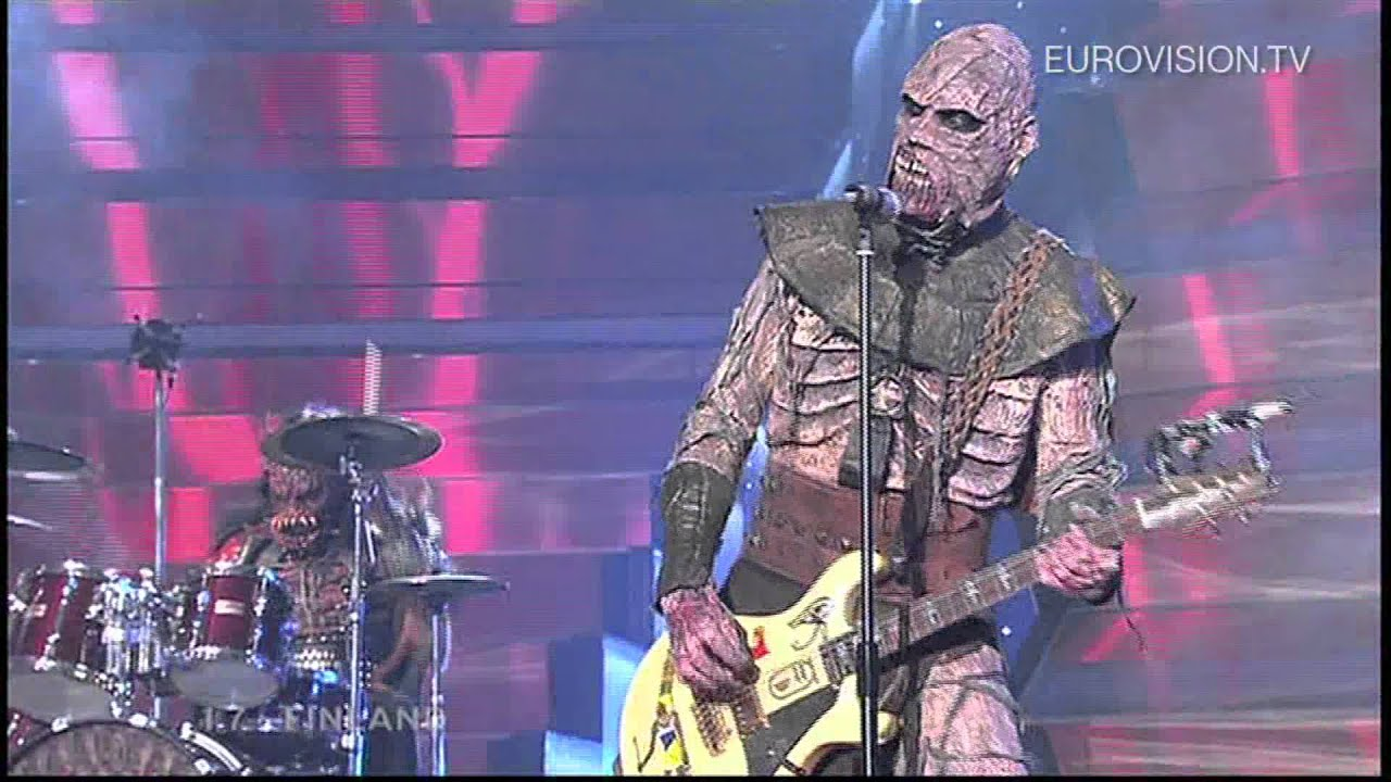 Lordi - Hard Rock Hallelujah (Finland 2006)