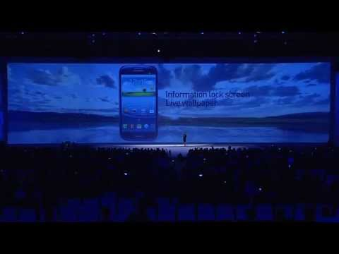 "Image of Full video: ""Samsung Mobile Unpacked 2012"" event in London"