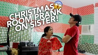Video Christmas Wrapping Room Prank On Sister | Ranz and Niana MP3, 3GP, MP4, WEBM, AVI, FLV November 2018