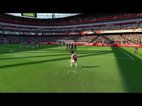 Leroy Sane freekick goal