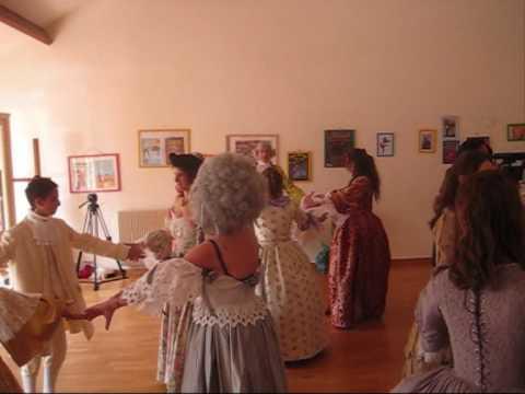 Initiation danses baroques pour le bal de Versailles 2009
