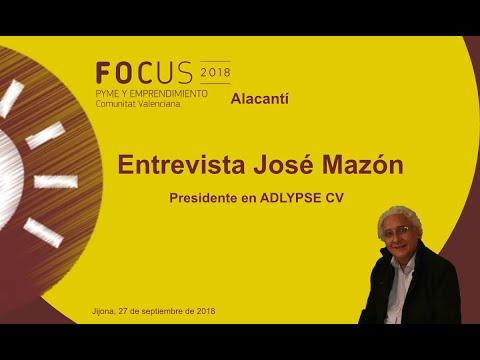 José Mazón, presidente de ADLYPSE CV, en Focus Pyme Alacantí[;;;][;;;]