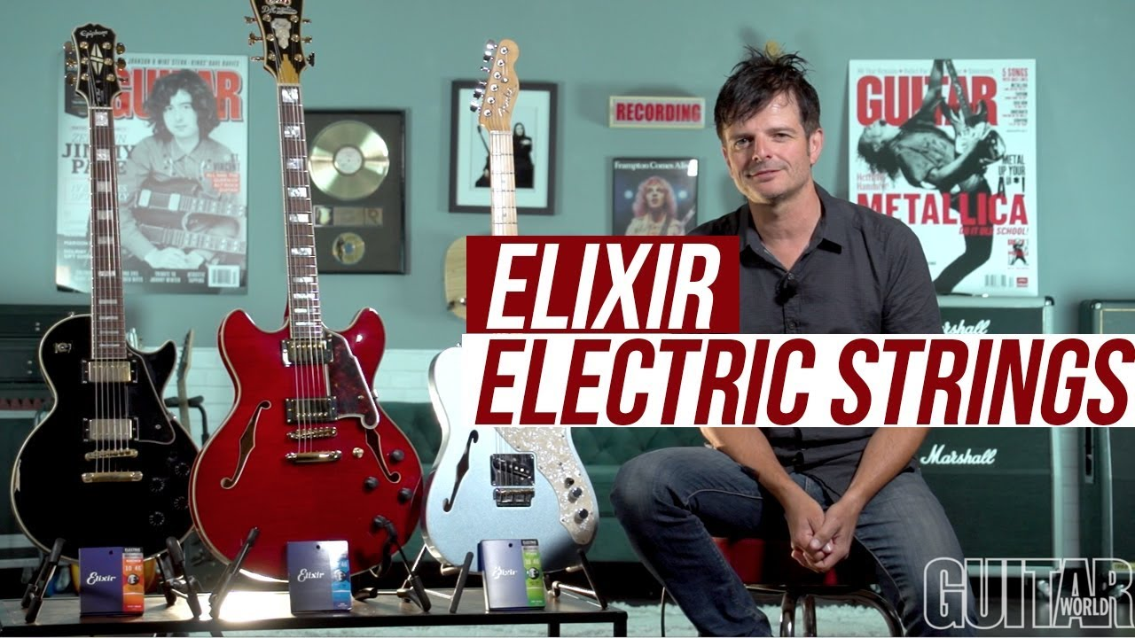 Should I Use Coated Strings? Paul Riario Talks Elixir Electric Guitar Strings!