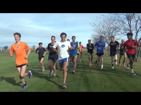 Mountain West XC Course Preview with the Boise State Broncos (видео)