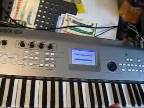 TALKBOX PATCH SETTING FOR YAMAHA MM6 / MM8 keyboard - How to make a Talkbox Patch