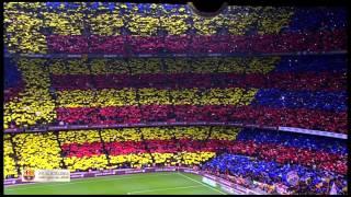Video Amazing FC Barcelona Anthem Live at Camp Nou El Clasico El Cant del Barça MP3, 3GP, MP4, WEBM, AVI, FLV Februari 2019