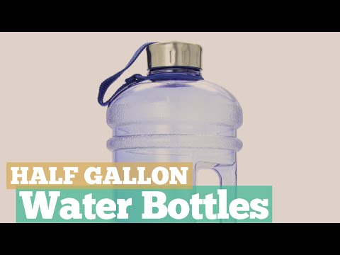 Half Gallon Water Bottles // 12 Half Gallon Water Bottles You've Got A See!