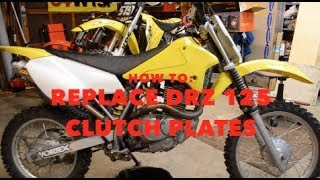 3. HOW TO: Replace DRZ 125 Clutch Plates
