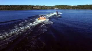 Water-sport in Nykvarn, Sweden
