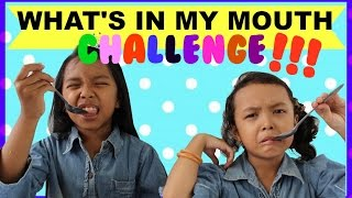 Video WHAT'S IN MY MOUTH CHALLENGE | Indonesia ♥ Kids Edition MP3, 3GP, MP4, WEBM, AVI, FLV Agustus 2018