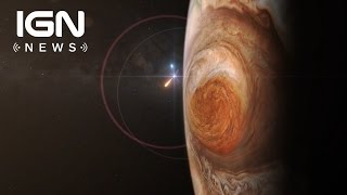 Jupiter's Red Spot Is Hotter Than The Hottest Lava On Earth - IGN News by IGN