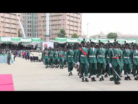 2015 NIGERIAN INAUGURATION (Colour Party Parade)