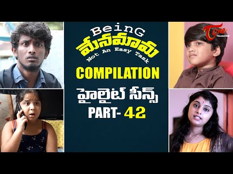 Best of Being Menamama | Telugu Comedy Web Series | Highlight Scenes Vol #42 | Ram Patas | TeluguOne