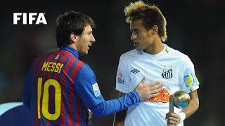 Club Classic Messi Barca Rout Neymar Santos