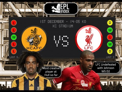 Hull City Vs Liverpool 2013/2014 (Home)