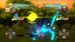 Naruto Shippuden Ultimate Ninja Storm Generations - Player Matches: Trying Out Raikage And Minato