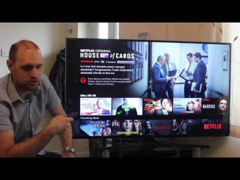 Видео Телевизор LED Samsung UE55KU6072