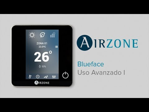 Termostato Airzone Blueface: uso avanzado I