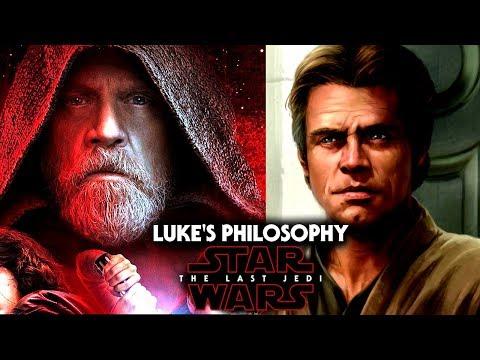 Star Wars The Last Jedi - Luke Doesn't Believe In The Dark Side & More! (видео)