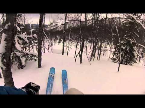 VIDEO: Pudderkjøring i Narvikfjellet - ©Martin Fredriksen