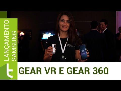 Lançamento Samsung: Gear VR e Gear 360  Vídeo do TudoCelular