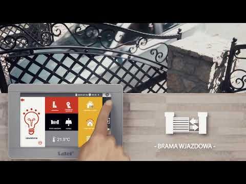 Dotykowy manipulator SATEL INT-TSI może wyglądać również tak! W Montersi.pl opracowaliśmy nową grafikę do tego urządzeni
