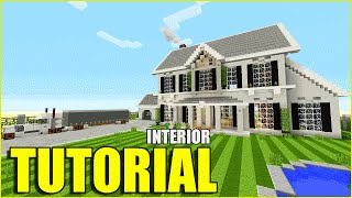 Minecraft Tutorial: How To Make A Suburban House ( Interior )   Top House 2016