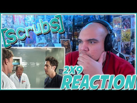 WOW, JD GOT ONE OVER COX! | Scrubs 2x9 REACTION | Season 2 Episode 9