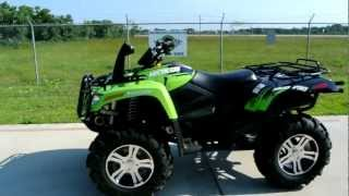 6. 2011 Arctic Cat 1000 MudPro LTD Sublime Green Overview Review Walk Around