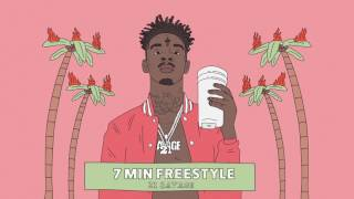 Video 21 Savage - 7 Min Freestyle (Official Audio) MP3, 3GP, MP4, WEBM, AVI, FLV Juni 2018