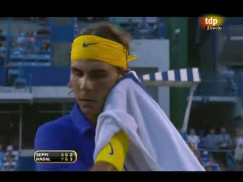 Andreas Seppi vs Rarfael Nadal