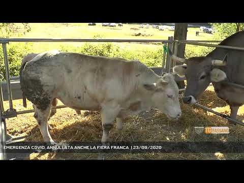 EMERGENZA COVID, ANNULLATA ANCHE LA FIERA FRANCA    23/09/2020