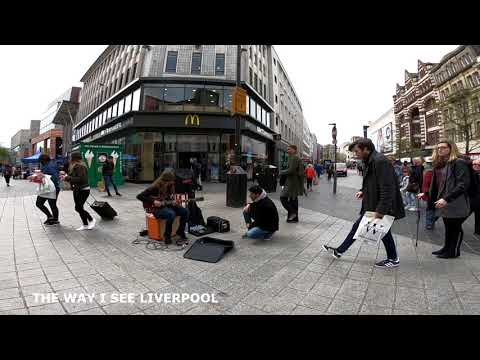 Walking Around Liverpool City Centre