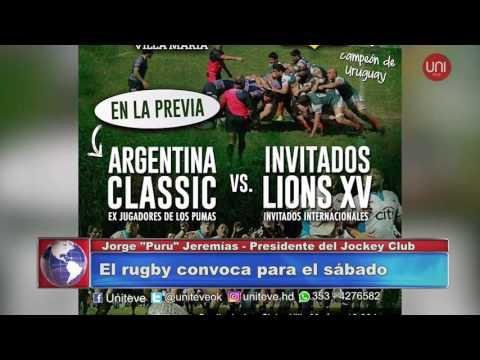 El Rugby convoca para éste sábado.