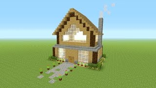 """Minecraft - Awesome Wooden Survival House """"Xbox Edition"""" ASH#36"""