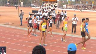 Bhinder India  city photo : MENS 800M FINAL. ALL INDIA INTER UNIVERSITY ATHLETICS CHAMPIONSHIPS.2014-15