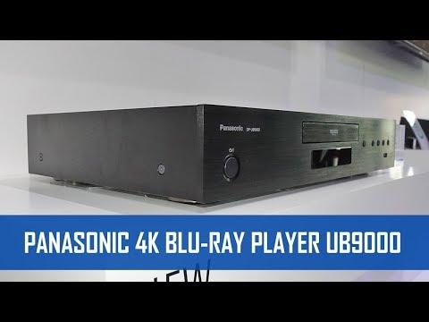 PANASONIC UB9000 4K BLU-RAY PLAYER 2018 mit HDR10+ & Dolby Vision