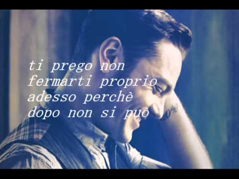 , title : 'Tiziano Ferro - Stop!Dimentica  +testo'