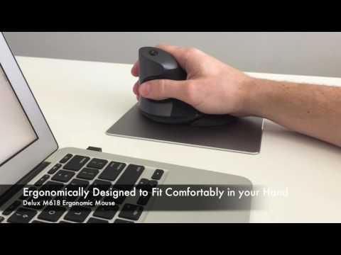 Delux M618 Ergonomic Mouse