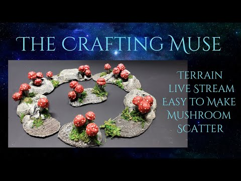 Easy to Make Mushroom Scatter for your Tabletop Game Terrain