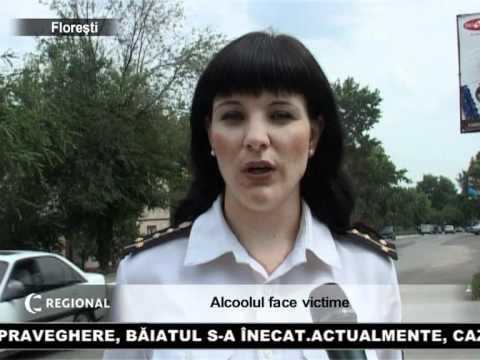 Alcoolul face victim