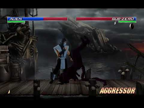 [Mortal Kombat Project Season 2.9] Team MKX Vs Team MK 1