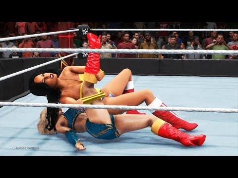 WWE 2K20 - Wonder Woman vs. Supergirl - Digital Comics, Marvel Legends, Epic Battle 💯