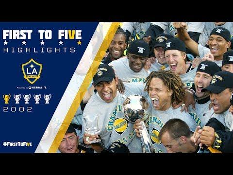 Video: #FirstToFive: 2002 MLS Cup Highlights | Carlos Ruiz' golden goal winner gives LA their first