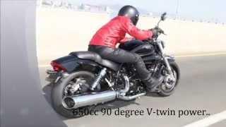 10. Hyosung Motorcycles GV650 Progress