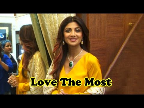What Does Shilpa Shetty Kundra Love The Most?