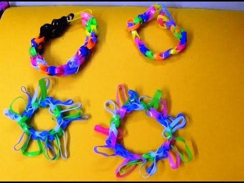 Make A Fishtail Rubber Band Friendship Band Bracelet Without Loom / Easy Unique Stylish New Band