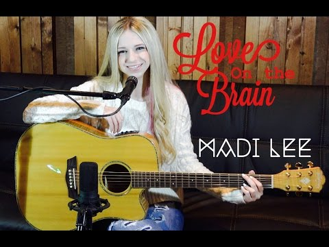 "Rihanna  ""Love On The Brain"" Cover by Madi Lee"