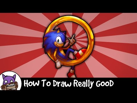 Så målar du Sonic